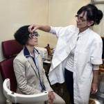 Szemész dr-nő
